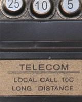 Old Vintage Pay Phone I Fine-Art Print