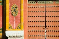 Inner Courtyard doors, The Forbidden City, Beijing, China Fine-Art Print