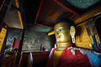 Golden Buddha, Shey, Ladakh, India Fine-Art Print