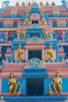 Temple at Sai Baba Ashram, India Fine-Art Print
