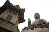 The Giant Seated Buddha, Hong Kong, China Fine-Art Print