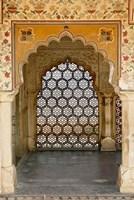 Archway, Amber Fort, Jaipur, India Fine-Art Print