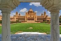 Umaid Bhawan Palace hotel, Jodjpur, India. Fine-Art Print