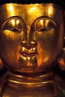 Golden Temple Buddha at Cemetary, Hong Kong Fine-Art Print