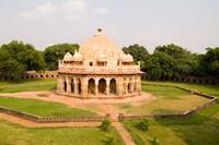 Peaceful Park, Isa Khan Tomb Burial Sites, New Delhi, India Fine-Art Print
