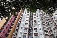 Apartments, Hong Kong, China Fine-Art Print