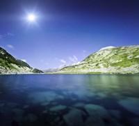 Okoto Lake in the Pirin Mountains, Pirin National Park, Bulgaria Fine-Art Print
