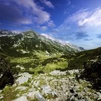 A green valley through Pirin Mountains, Pirin National Park, Bulgaria Fine-Art Print