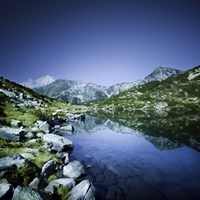 Ribno Banderishko Lake in Pirin National Park, Bulgaria Fine-Art Print