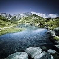 Ribno Banderishko River in Pirin National Park, Bansko, Bulgaria Fine-Art Print
