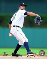 David Price Pitching Pose Fine-Art Print