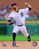 David Price Baseball Pitching Fine-Art Print