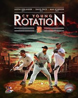 Detroit Tigers Cy Young Rotation Composite Fine-Art Print