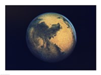 Mars seen through the Hubble Telescope Fine-Art Print