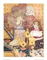 Fleurs et dentelles Fine-Art Print