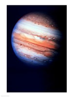 Close-up of Jupiter in space Fine-Art Print