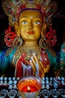 Maitreya Buddha at Thiksey Monastery, Leh, Ledakh, India Fine-Art Print