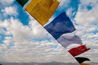 Prayer flags, Leh, Ladakh, India Fine-Art Print
