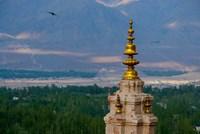 India, Ladakh, Leh, Gonpa Soma Jokhang spire, Fine-Art Print