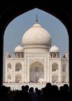 The Royal Gate detail s, Taj Mahal, Agra, India Fine-Art Print