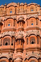 Wind Palace in Downtown Center of the Pink City, Jaipur, Rajasthan, India Fine-Art Print