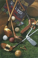 Golf Antiques Fine-Art Print