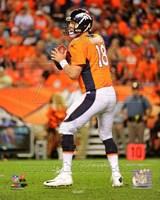Peyton Manning 2014 Football Action Fine-Art Print