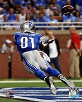 Calvin Johnson 2014 Action Fine-Art Print