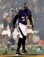 Terrell Suggs 2014 Action Fine-Art Print