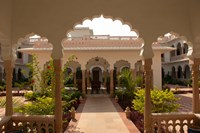 Hotel Kiran Villa Palace, Bharatpur, Rajasthan, India. Fine-Art Print