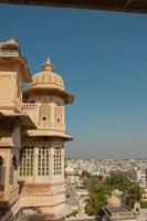 Turret, City Palace, Udaipur, Rajasthan, India Fine-Art Print