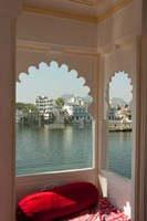 View from a restaurant, Udaipur, Rajasthan, India Fine-Art Print