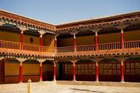 Building facade, Gompas And Chortens, Ladakh, India Fine-Art Print