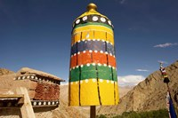 Colorful structure, Gompas And Chortens, Ladakh, India Fine-Art Print