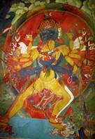 Thikese Monastery, Interior, Ladakh, India Fine-Art Print