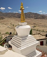 Buddhism, Gompas and Chortens, Ladakh, India Fine-Art Print