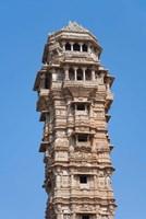 Victoria Tower in Chittorgarh Fort, Rajasthan, India Fine-Art Print