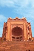 Gate, Jami Masjid Mosque, Fatehpur Sikri, Agra, India Fine-Art Print