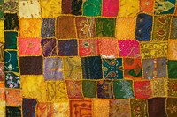 Colorful Carpet, Pushkar, Rajasthan, India Fine-Art Print