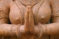 Hindu sculpture, Bhubaneswar, Orissa, India Fine-Art Print
