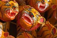 Tiger Toys, Puri, Orissa, India Fine-Art Print