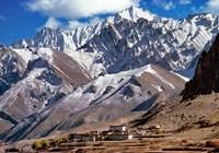 India, Ladakh, Bodh Kharbu, Srinagar-Leh road Fine-Art Print