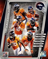 Denver Broncos 2014 Team Composite Fine-Art Print