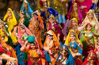Figurines at the Saturday Market, Goa, India Fine-Art Print