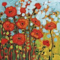 Red Poppy Field Fine-Art Print