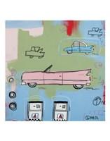 Pink Car Fine-Art Print