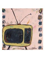 Yellow TV Fine-Art Print