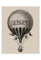 Le Pilote Fine-Art Print