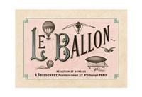 Le Ballon, ca. 1883 Fine-Art Print