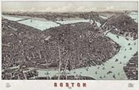Boston, Massachusetts, 1899 Fine-Art Print